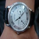 台中流當品拍賣 流當手錶 收藏品 原裝 ZENITH 先力 PT950 白金 手上鍊 男錶