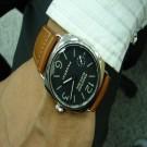 台中流當品拍賣 流當手錶 原裝 PANERAI 沛納海 PAM183 手上鍊不銹鋼簍空 男錶