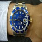 台中流當品拍賣 流當手錶 原裝 ROLEX 勞力士 16613 藍水鬼 男錶 9成5新