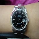 台中流當品拍賣 流當手錶拍賣 原裝 勞力士 15200 丁字面盤 男錶 9成5新 附盒單