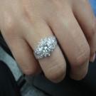 台中流當品拍賣 流當鑽石 豪華 50分 G色 女鑽戒 喜歡價可議 ZS138