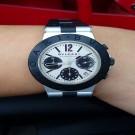 台中流當品拍賣 原裝 BVLGARI Diagono 計時 自動 男女錶 9成5新 喜歡價可議