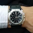 流當品拍賣 原裝 BVLGARI OCTO 計時 自動 男錶 9成5新 喜歡價可議